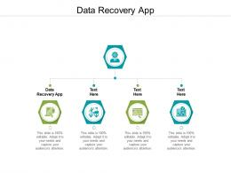 Data Recovery App Ppt Powerpoint Presentation Slides Visual Aids Cpb