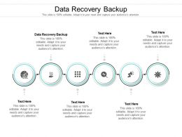 Data Recovery Backup Ppt Powerpoint Presentation Infographics Themes Cpb