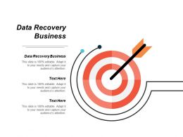 Data Recovery Business Ppt Powerpoint Presentation Infographics Professional Cpb