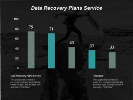 Data Recovery Plans Service Ppt Powerpoint Presentation Pictures Portrait Cpb