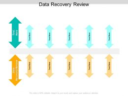 Data Recovery Review Ppt Powerpoint Presentation Example Cpb