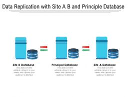 Data Replication With Site A B And Principle Database