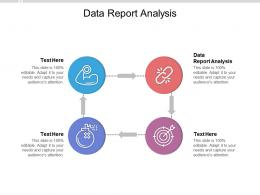 Data Report Analysis Ppt Powerpoint Presentation Icon Guidelines Cpb