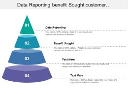 Data Reporting Benefit Sought Customer Segmentation Business Opportunities