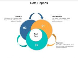 Data Reports Ppt Powerpoint Presentation Gallery Icons Cpb