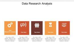 Data Research Analysis Ppt Powerpoint Presentation File Microsoft Cpb
