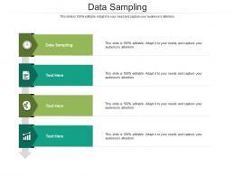 Data Sampling Ppt Powerpoint Presentation Diagram Ppt Cpb