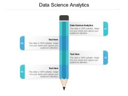 Data Science Analytics Ppt Powerpoint Presentation File Master Slide Cpb