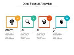 Data Science Analytics Ppt Powerpoint Presentation Slides Summary Cpb