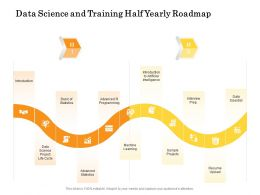Data Science And Training Half Yearly Roadmap