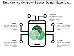 Data Science Computer Science Domain Expertise Mathematics
