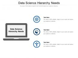 Data Science Hierarchy Needs Ppt Powerpoint Presentation Ideas Graphics Pictures Cpb