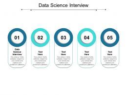Data Science Interview Ppt Powerpoint Presentation Summary Slide Portrait Cpb