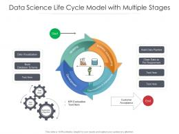 Data Science Life Cycle Model With Multiple Stages
