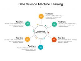 Data Science Machine Learning Ppt Powerpoint Presentation Ideas Icon Cpb