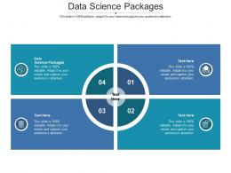 Data Science Packages Ppt Powerpoint Presentation Designs Download Cpb