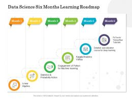 Data Science Six Months Learning Roadmap