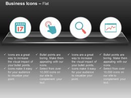 data_search_analysis_time_based_calculation_ppt_icons_graphics_Slide01