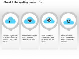 Data Search Process Control Settings Cloud Computing Ppt Icons Graphics