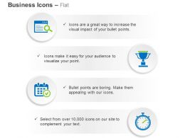 Data Search Time Scheduling Time Management Ppt Icons Graphics