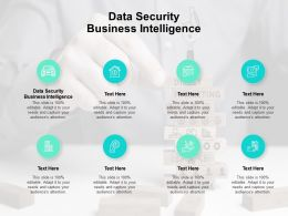 Data Security Business Intelligence Ppt Powerpoint Presentation File Mockup Cpb