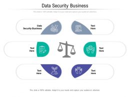 Data Security Business Ppt Powerpoint Presentation Icon Aids Cpb