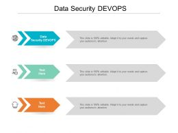Data Security DEVOPS Ppt Powerpoint Presentation Inspiration Design Templates Cpb