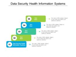 Data Security Health Information Systems Ppt Powerpoint Presentation Gallery Visuals Cpb
