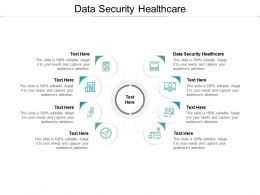 Data Security Healthcare Ppt Powerpoint Presentation Styles Elements Cpb