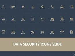 Data Security Icons Slide Ppt Powerpoint Presentation Summary Display
