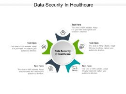 Data Security In Healthcare Ppt Powerpoint Presentation Inspiration Introduction Cpb