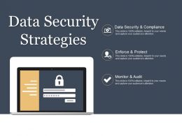 Data Security Strategies Powerpoint Ideas