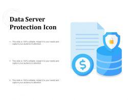 Data Server Protection Icon
