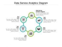 Data Service Analytics Diagram Ppt Powerpoint Presentation Pictures Gallery Cpb