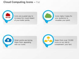 Data Share Upload Cloud Computing Networking Ppt Icons Graphics