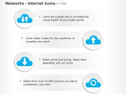Data Sharing Upload Download Sync Ppt Icons Graphics