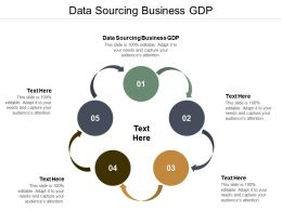 Data Sourcing Business Gdp Ppt Powerpoint Presentation Icon Format Ideas Cpb