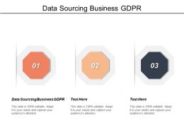 Data Sourcing Business Gdpr Ppt Powerpoint Presentation Gallery Graphics Example Cpb