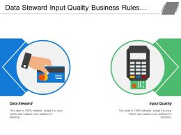 Data Steward Input Quality Business Rules Trending Analysis