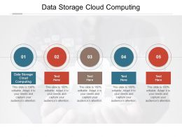 Data Storage Cloud Computing Ppt Powerpoint Presentation Pictures Grid Cpb