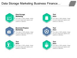 Data Storage Marketing Business Finance Marketing Subscription Service Cpb