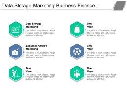 Data Storage Marketing Business Finance Marketing Subscription Service Cpb