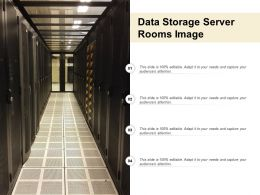 Data Storage Server Rooms Image