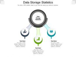 Data Storage Statistics Ppt Powerpoint Presentation Inspiration Information Cpb