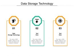 Data Storage Technology Ppt Powerpoint Presentation Show Slideshow Cpb