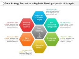 Data Strategy Framework In Big Data Showing Operational Analysis