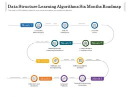 Data Structure Learning Algorithms Six Months Roadmap
