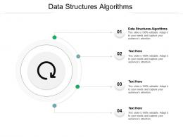 Data Structures Algorithms Ppt Powerpoint Presentation Professional File Formats Cpb