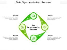 Data Synchronization Services Ppt Powerpoint Presentation Portfolio Gridlines Cpb