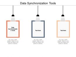 Data Synchronization Tools Ppt Powerpoint Presentation Outline Slide Download Cpb